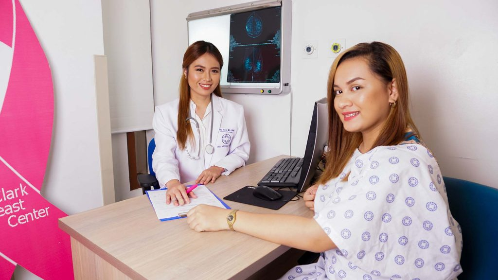 the medical city clark breast service