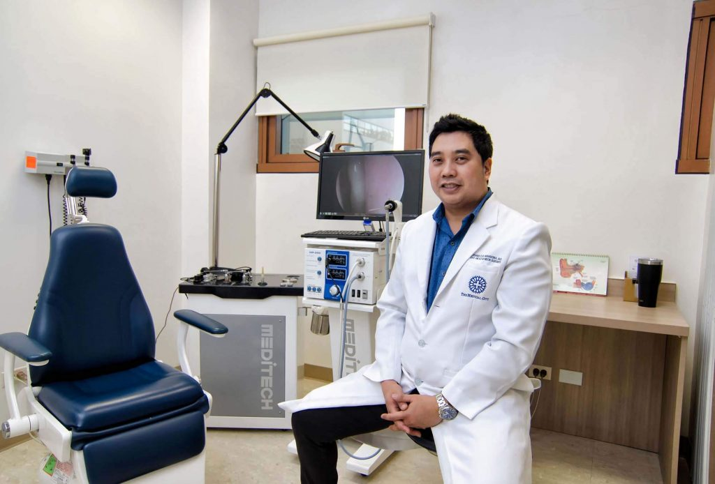 the medical city clark ear nose and throat service