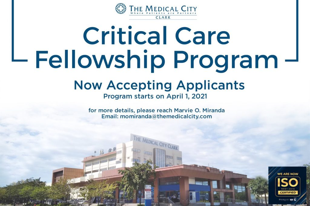 Critical Care Fellowship Program