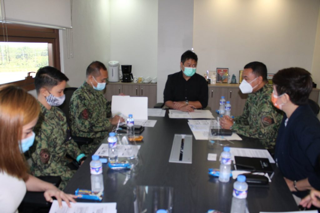 TMC Clark, PNP personnel meet to discuss partnership