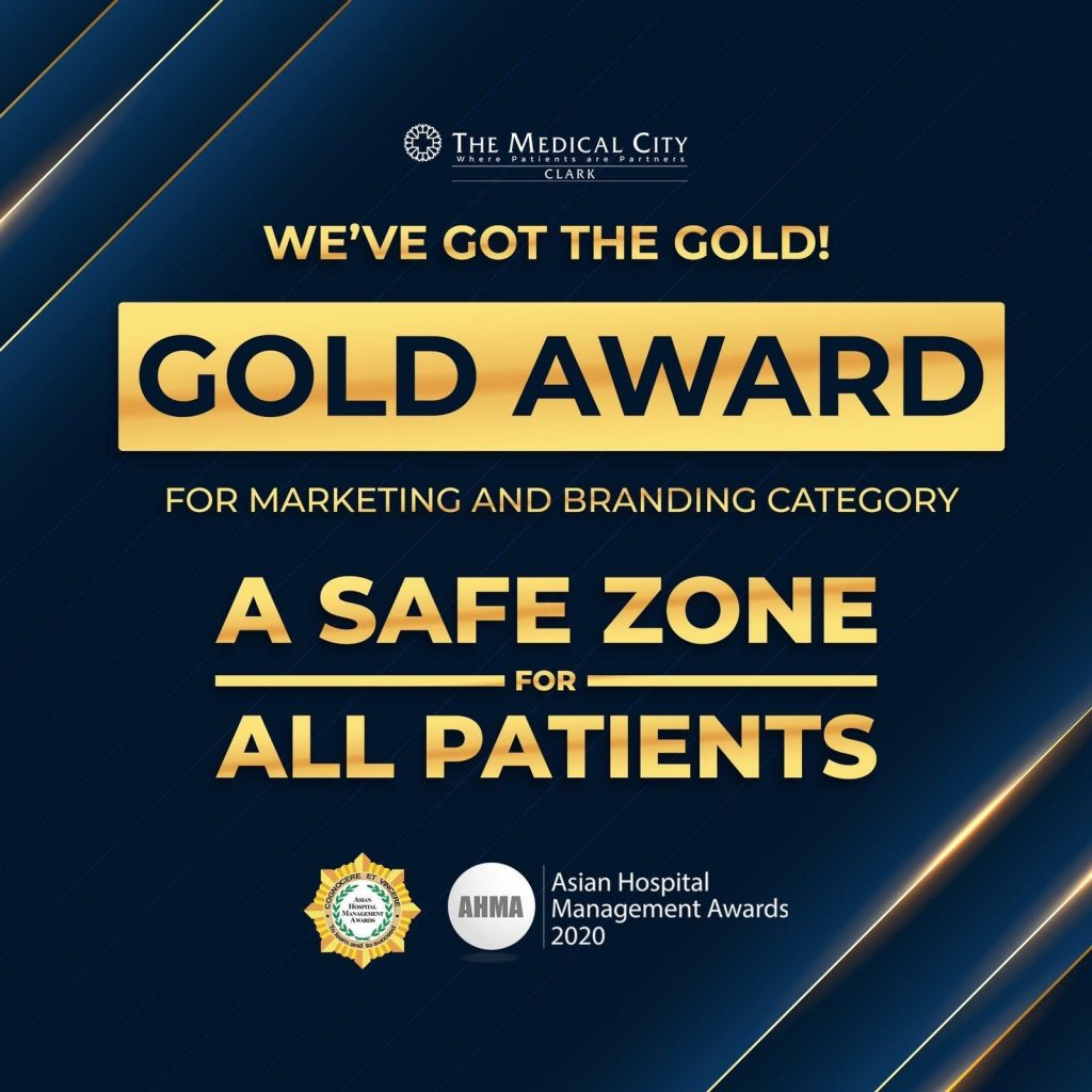 The Medical City Clark bags gold award in Asian Hospital Management Awards